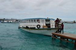 Veřejná doprava na Maledivách - trajekt (ferry)
