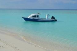 rybářský člun Maledivy