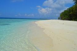pláž ostrova Fodhdhoo