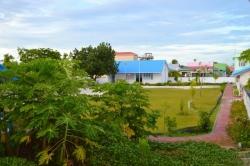 školní fotbalové hřiště Maledivy