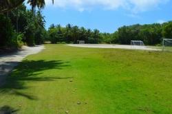 hřiště na lokálním ostrově Fodhdhoo