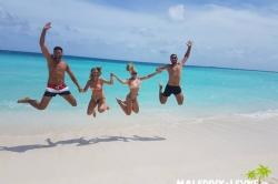 Naši klienti na Maledivách 1
