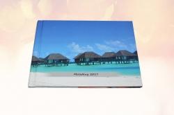 fotokniha Maledivy - přední strana