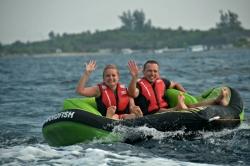 zábava na Maledivách - fun tube