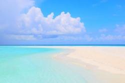 nejkrásnější pláž Maledivy