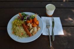 oběd na výletě