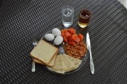Maledivy snídaně