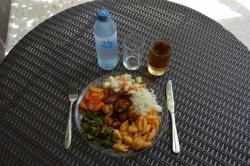Maledivy oběd