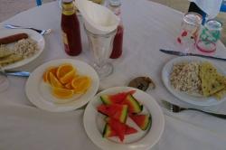 Večerní stolování