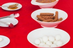 Dovolená na Maledivách - snídaňový bufet