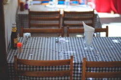 Vnitřní posezení jídelny