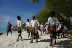 Maledivy svatba - kapela