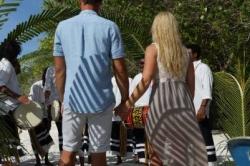 Maledivy svatba, obřad