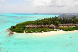luxusní hotel na ostrově