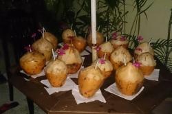 Dovolená na Maledivách - čerstvý kokos