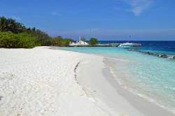 pláž kouzelného ostrůvku