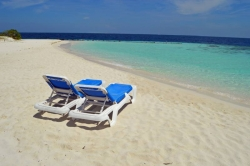 relax na Maledivách