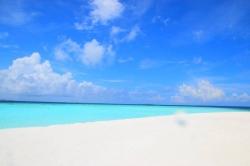 dokonalé počasí na Maledivách