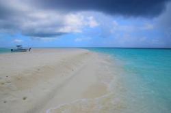 zhoršující se se počasí Maledivy