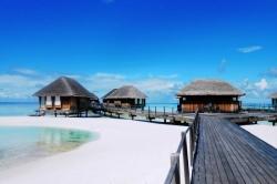 Vodní vily resortu