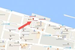 poloha restaurace na mapě - detail