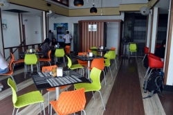 vnitřní část restaurace