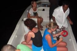 Rybaření ze člunu