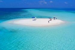 sand bank Maledivy