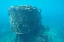 Anchor point - vrak lodi