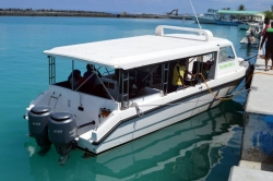 Maledivy - speed ferry