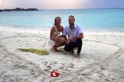 Šťastní novomanželé