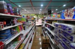ulička obchodu na Maledivách
