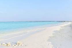Turistická pláž po rekonstrukci