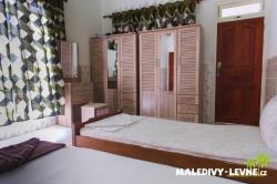 Maledivy dvoulůžkový pokoj