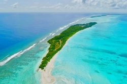 ostrov Fulhadhoo na Maledivách