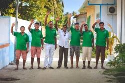 Dovolená na Maledivách - tým zaměstnanců