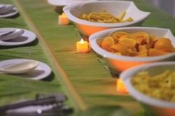 Dovolená na Maledivách - večerní bufet