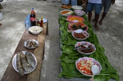 BBQ oběd na ostroě Vilingili