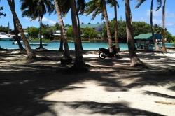 Maledivy, ostrov Huraa