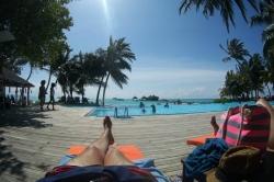 Maledivy den v resortu Club Med Kani