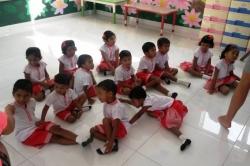 Maledivy místní školáčci