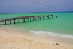 Maledivy - molo