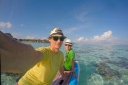 Paddleboard Maledivy