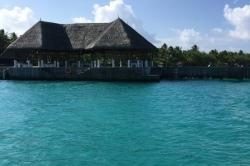 Resort na Maledivách