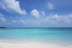 Pláž na ostrově