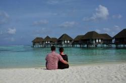 Maledivy v resortu