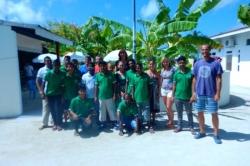 Maledivy s celým týmem