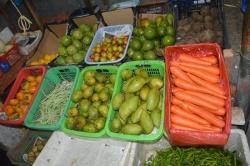 ovocný trh na Maledivách