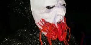 Maledivský svátek - masky