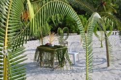 svatební altánek na Maledivách